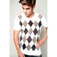 Camiseta Rombos Chico