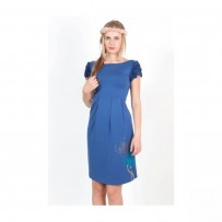DRESS RUFFLE JARDIN