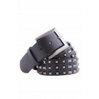 BELT LEATHER STUDDED