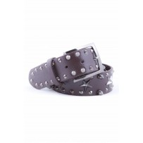 BELT LEATHER STUDDED STARS