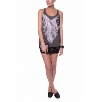 BORDER CHAINS TANK TOP
