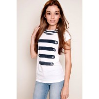 Camiseta Navy Chica