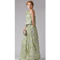 Vestido de seda Alta Costura