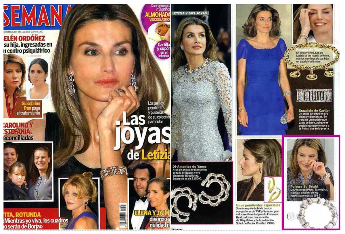 joyería online, joyas que llevan las famosas, moda de famosas, alexandra plata